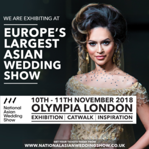 Europes Largest Asian Wedding Show 10th & 11th November 2018