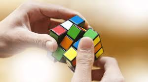Today I took a Rubik cube and randomly mixed it 23 times……