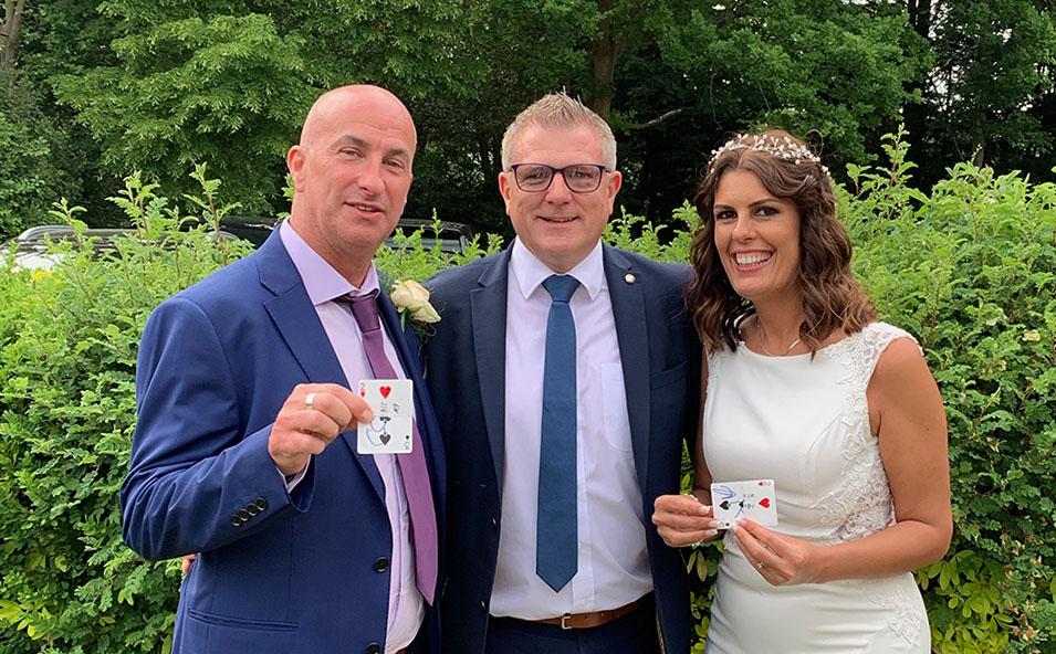 Congratulations – Natalie & Colin